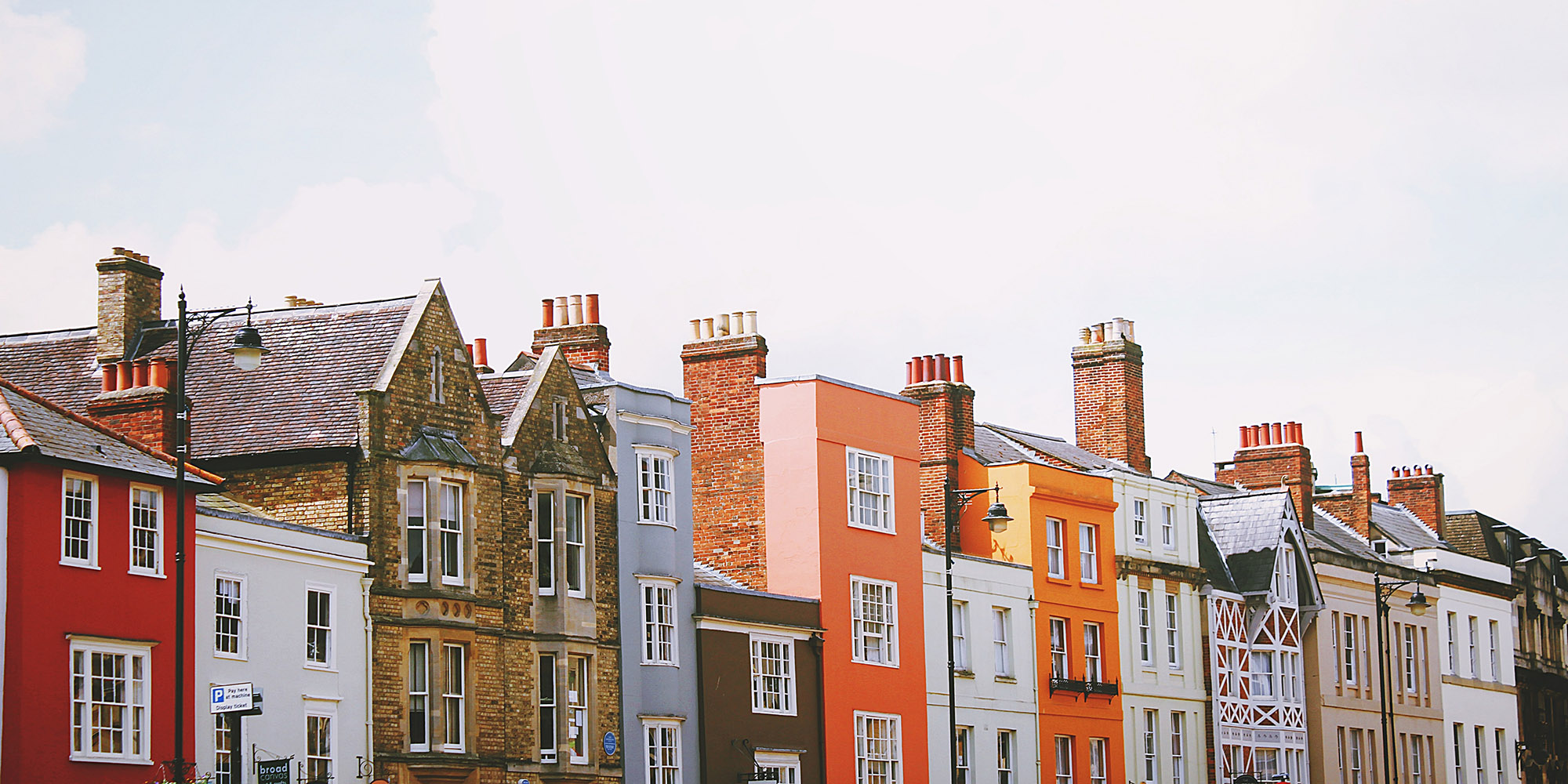 An image of a row of homes to represent our buy to let mortgage advisor service for landlords with multiple properties